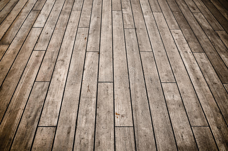 Dark Ship Deck. Full Frame view of a cruise ship deck used for background stock image