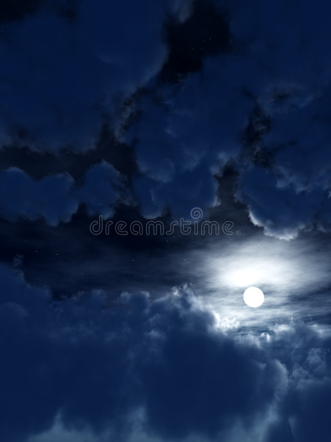 Download Dark Sky 5 stock illustration. Image of skyscape, cloudy - 4986250