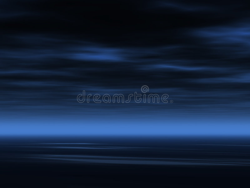 Dark sky background royalty free illustration