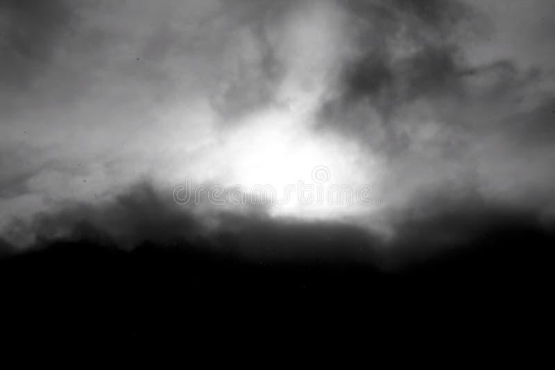 Dark sky scary royalty free stock photo