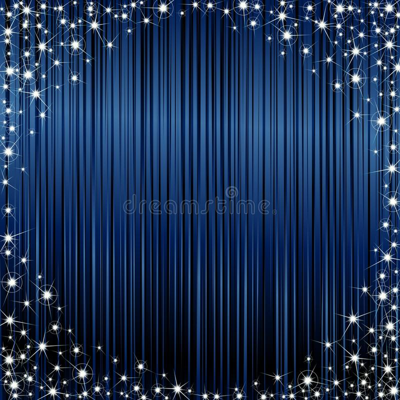 Download Dark sparkly frame stock vector. Image of evening, glow - 11883770