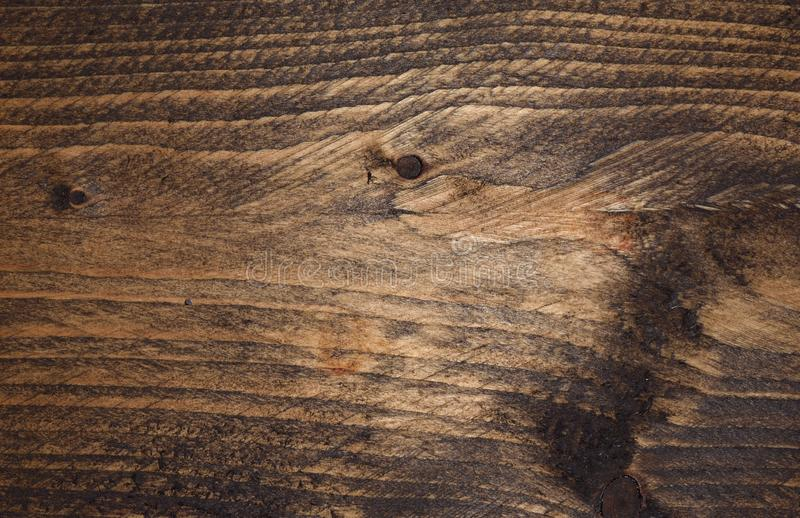dark stained grain and knots in wood stock photo image of