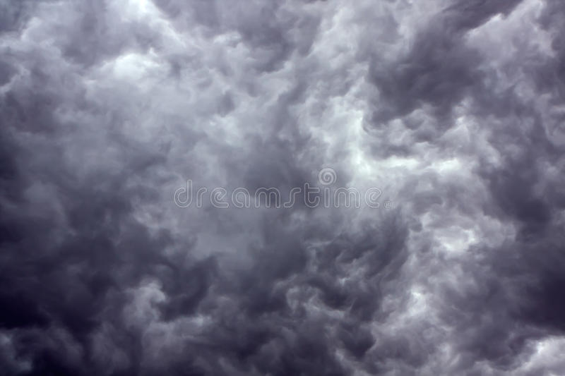 Download Dark storm clouds stock image. Image of overcast, climate - 14897211