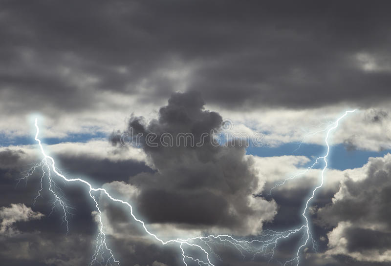 Dark Rain Clouds With Lightning | www.pixshark.com ...