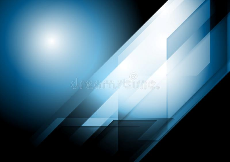 Dark tech corporate background royalty free illustration