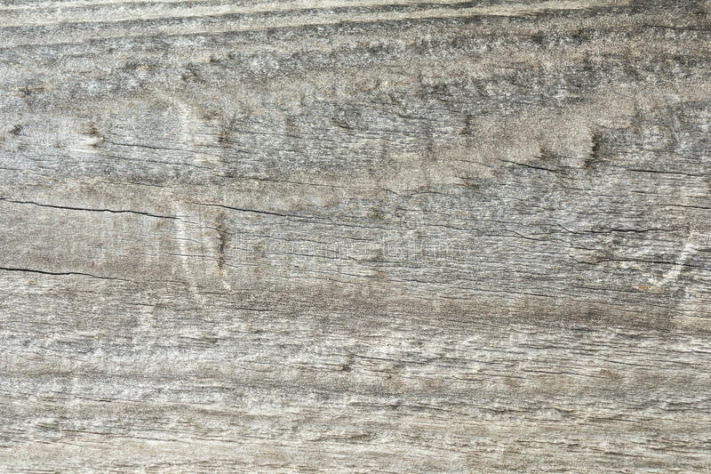 Dark texture of old natural wood with cracks from exposure to sun and wind. Abstract background royalty free stock images