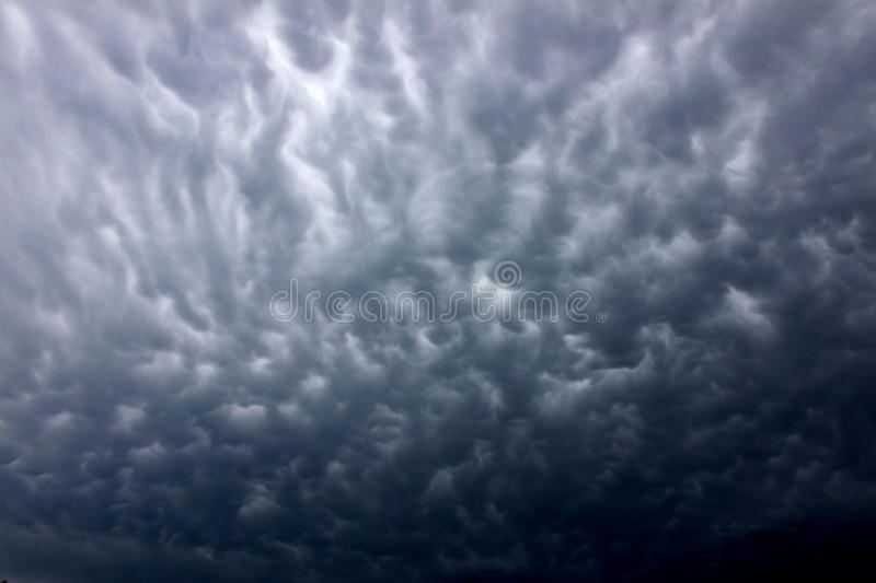 Download Dark Thunderstorm Clouds stock image. Image of cloudy - 25958083