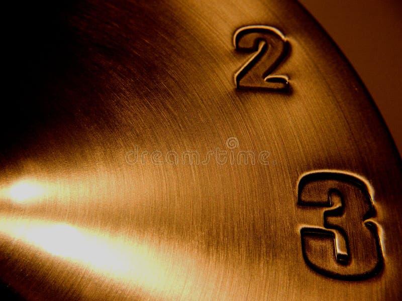 Clock face deadline. Closeup clock face deadline time stock photography