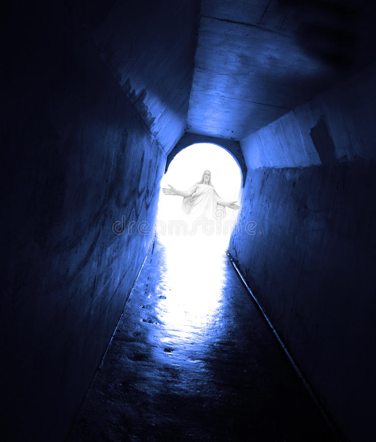 Download From The Dark To The Light Of Jesus Stock Photo - Image: 26273188