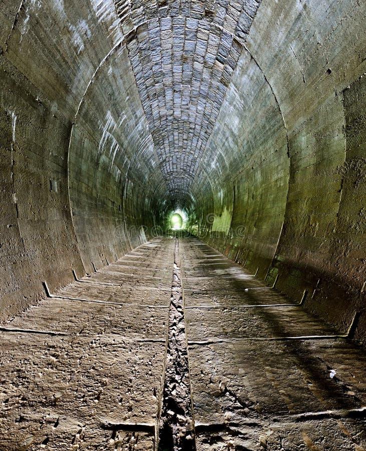 Dark Tunnel - nobody stock photos
