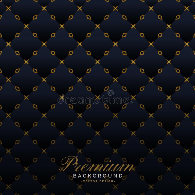 Dark upholstery background premium design stock illustration