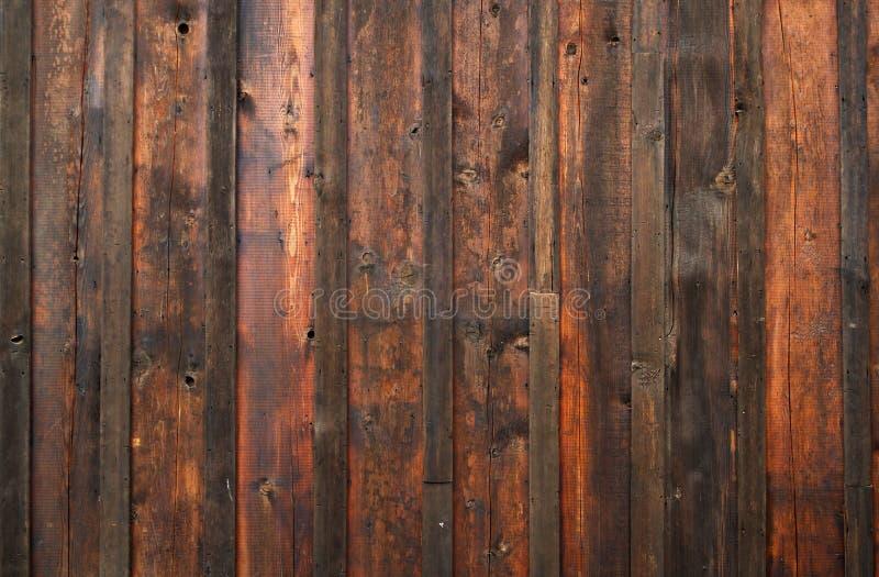 Dark weathered wood wall royalty free stock photos