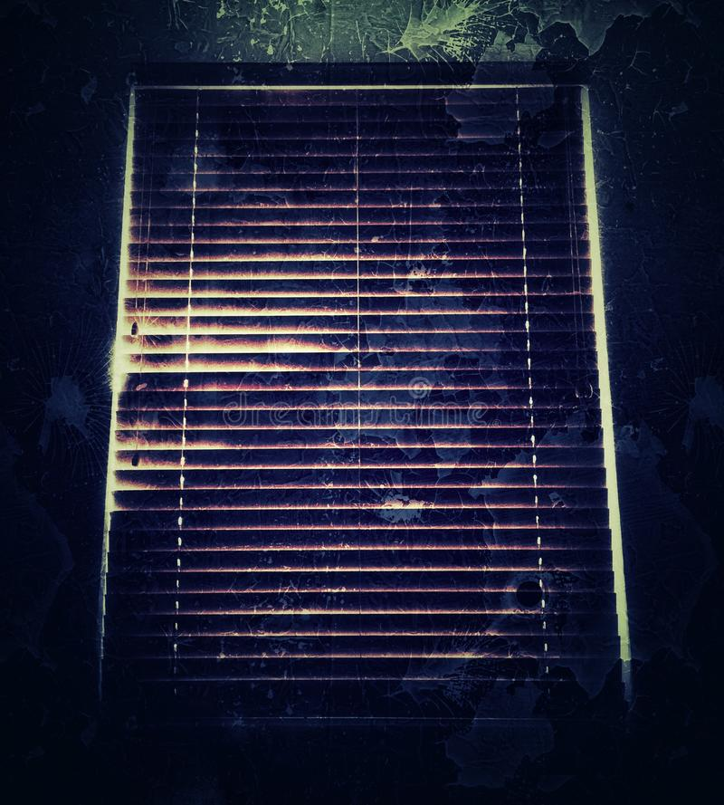 Dark Window stock photography
