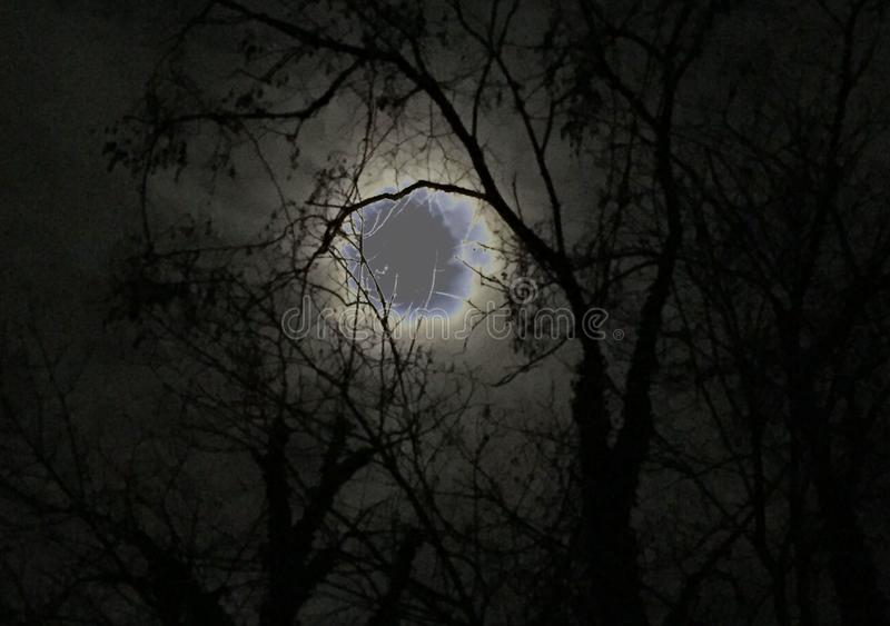 Hole In the Sky stock image