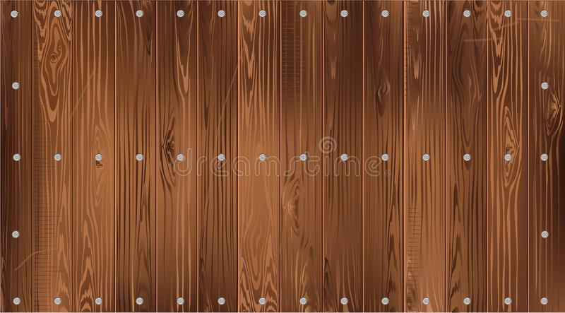 Dark wood background. Of narrow smooth boards royalty free stock photography
