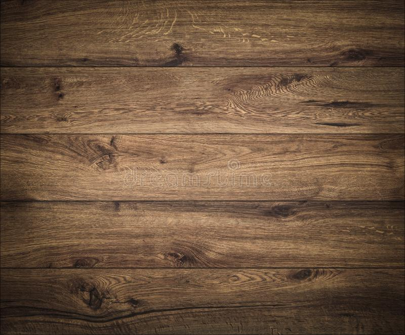 Dark wood background. Wooden board texture. Structure of natural plank. Texture royalty free stock photography