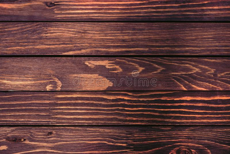 Wooden background for logo pictures or advertisement texts, above vantage point photography. Dark wood wooden background for logo pictures or advertisement texts stock photos