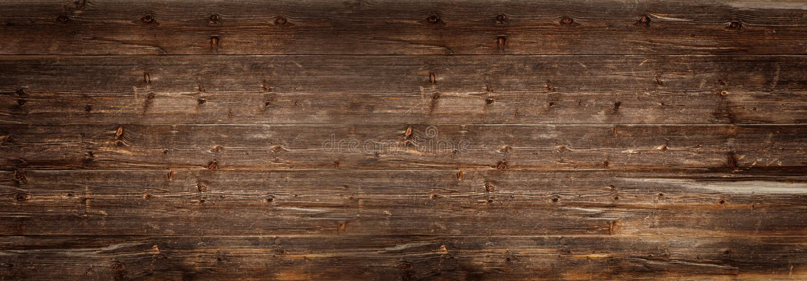 Dark wooden background stock images