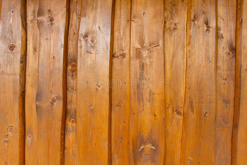 Dark wooden planks texture. Ecologically friendly material for renovation royalty free stock photo