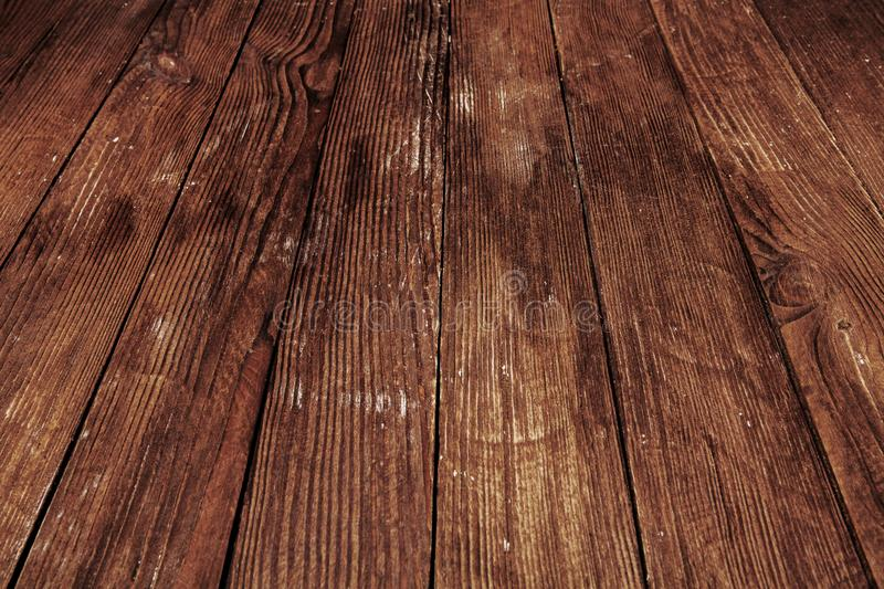 Dark wooden texture. Wood brown texture. Background old panels. Retro wooden table. Rustic background. Vintage colored surface. Dark wooden texture. Wood brown royalty free stock image