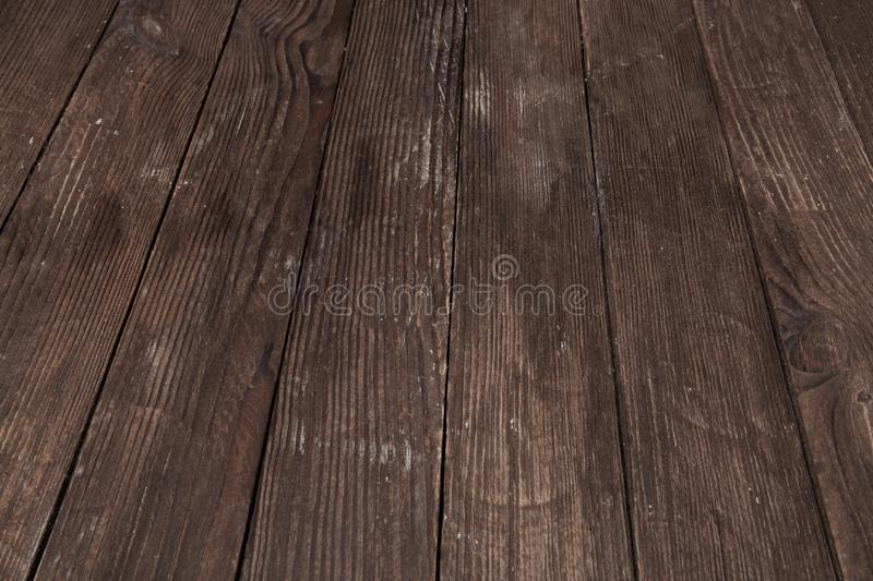 Dark wooden texture. Wood brown texture. Background old panels. Retro wooden table. Rustic background. Vintage colored surface. Dark wooden texture. Wood brown stock photo