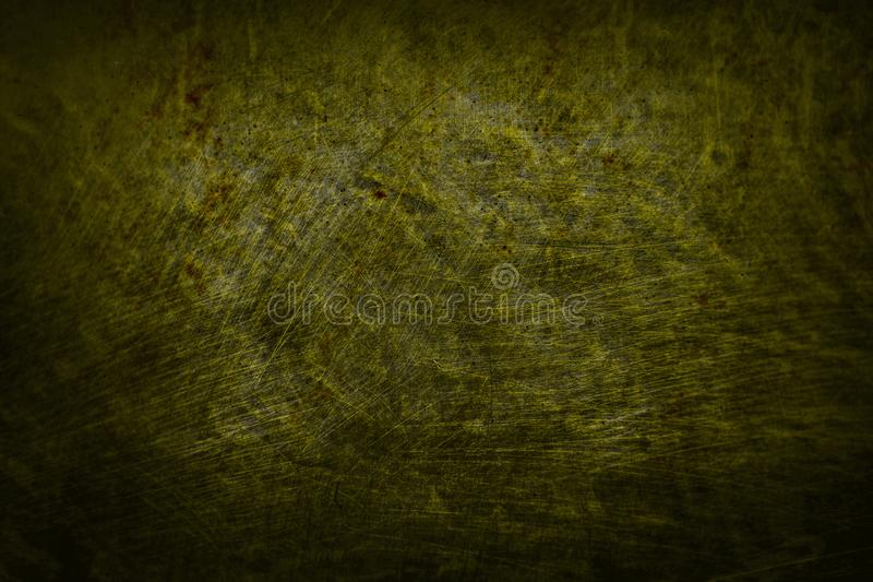 Dark yellow scratched abstract texture wall background no. 8 royalty free stock photos