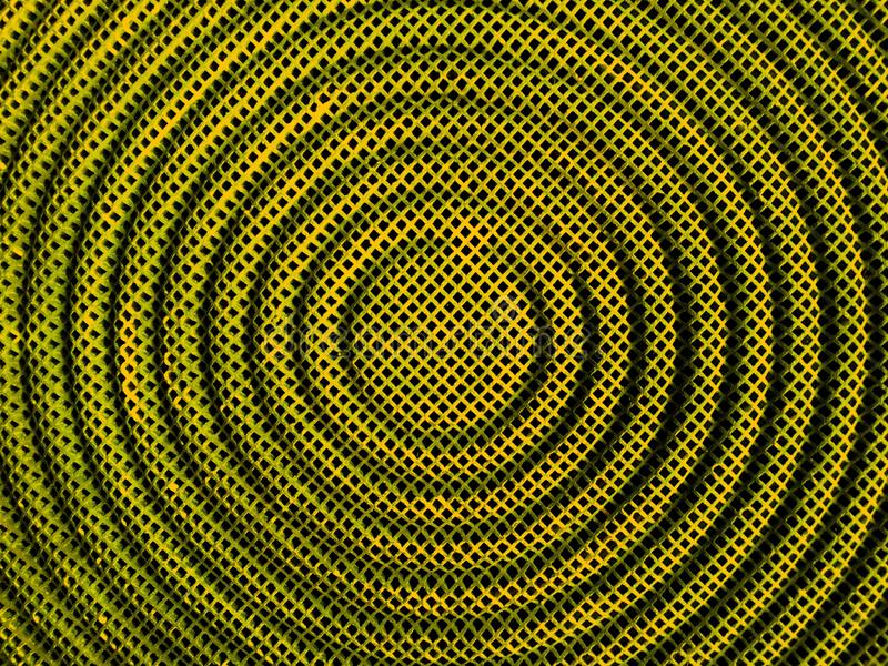 Dark yellow stainless steel mesh texture in circle shape background of stove. Dark yellow stainless steel mesh texture in circle shape background of stove top stock photos