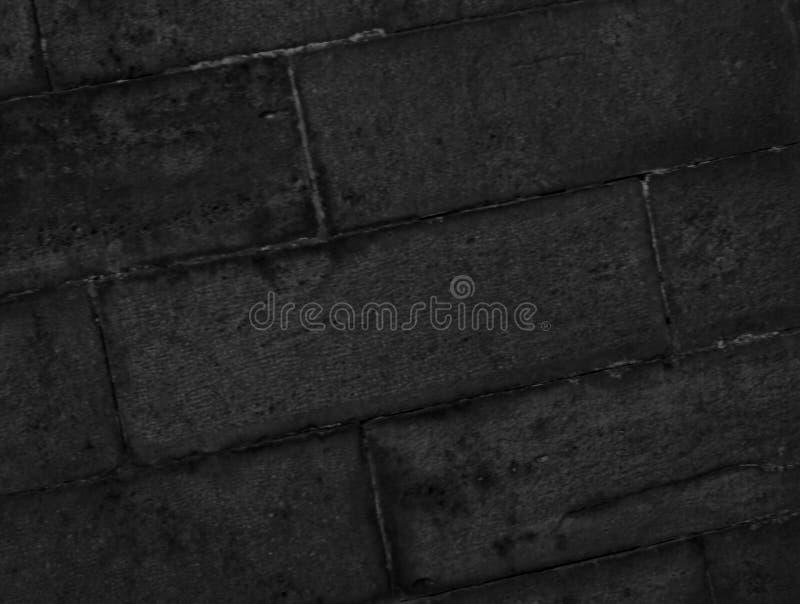 Darkgray kamienna ściana zdjęcie royalty free