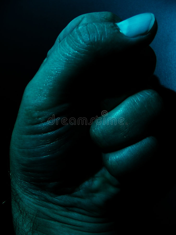 Download DarkHand fotografia stock. Immagine di colpevole, sporco - 216940