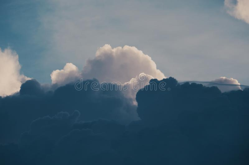 Darkness cloud background royalty free stock image
