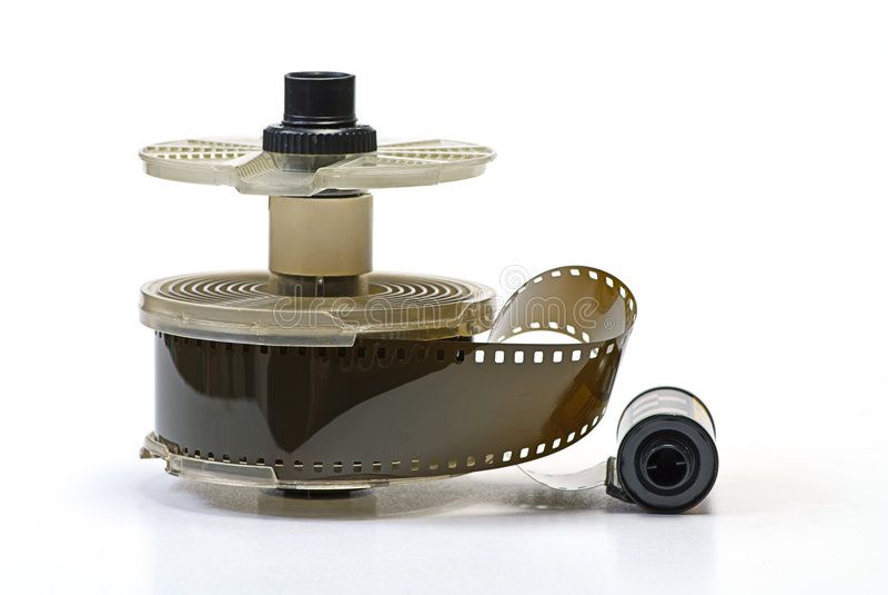Darkroom and photo film royalty free stock image