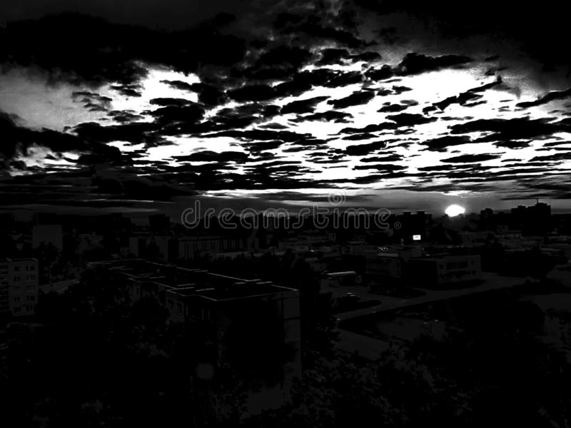 Darksun стоковые изображения rf