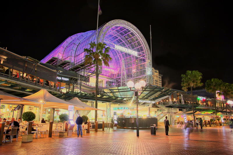 Darling Harbour Shopping Centre Editorial Stock Photo