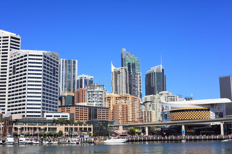 Download Darling Harbour Eastern Side Editorial Photo - Image: 26909031