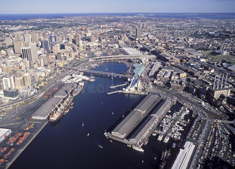 Darling Harbour Sydney royaltyfri fotografi
