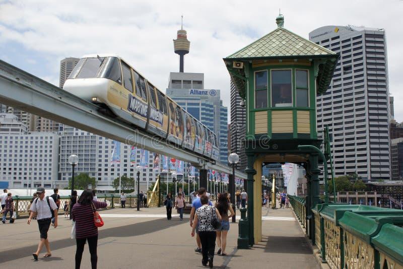 Darling Harbour, Sydney, Australie image libre de droits