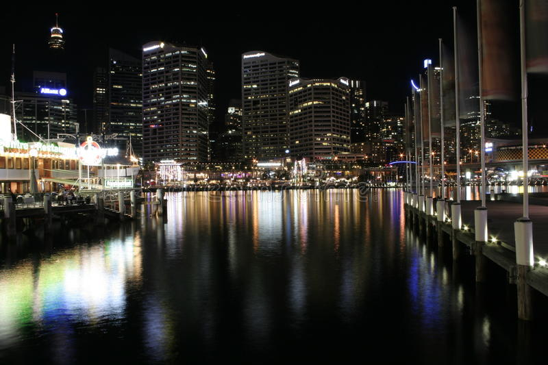 Download Darling Harbour Waterfront, Sydney Editorial Stock Image - Image of outdoors, editorial: 14151669