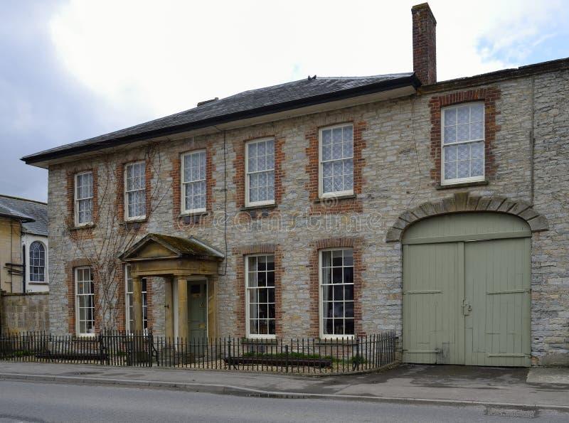 Darlington dom, Ilchester zdjęcie royalty free