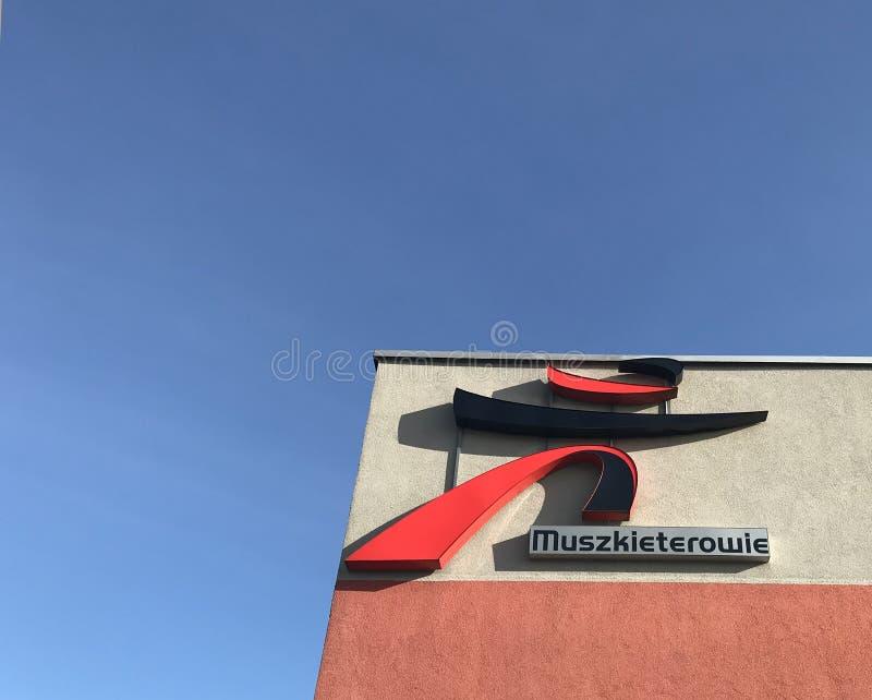 InterMarche supermarket in Darlowo Poland stock image
