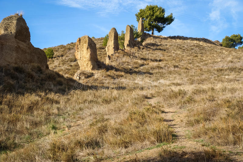 Daroca, città medievale, Teruel, l'Aragona, Spagna fotografia stock