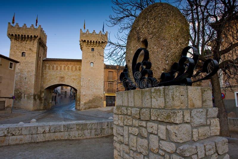 Daroca, l'Aragona, Spagna fotografia stock