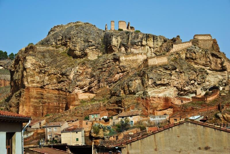 Daroca, Spanien stockbild