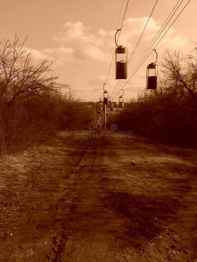 Daroga della corda fotografia stock