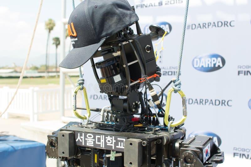 DARPA-het Team SNU 2 van de Roboticauitdaging stock afbeeldingen