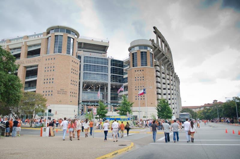 Darrell K Texas Memorial Stadium real fotos de archivo