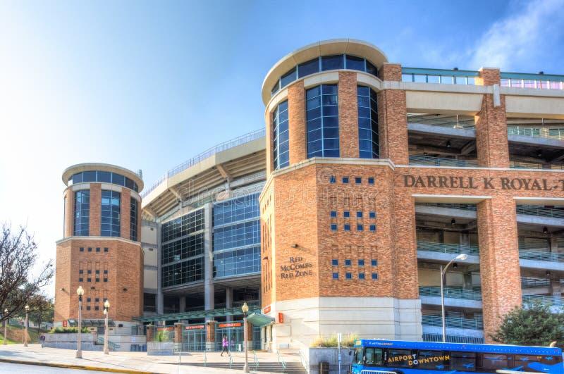 Darrell K Texas Memorial Stadium real fotos de archivo libres de regalías