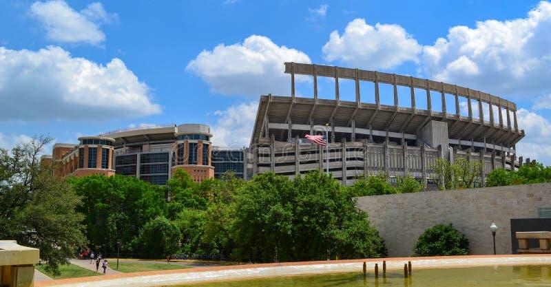 Darrell K Texas Memorial Stadium University real de Texas Longhorns fotografia de stock royalty free