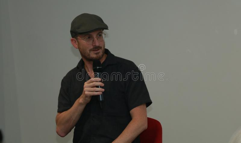 Darren Aronofsky in Armenia immagine stock