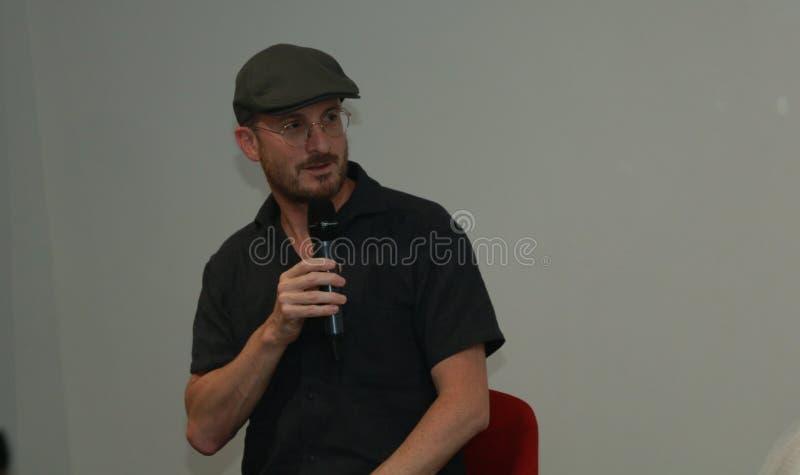 Darren Aronofsky em Arm?nia imagem de stock