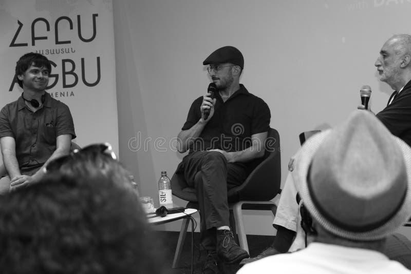 Darren Aronofsky en Arm?nie photographie stock libre de droits